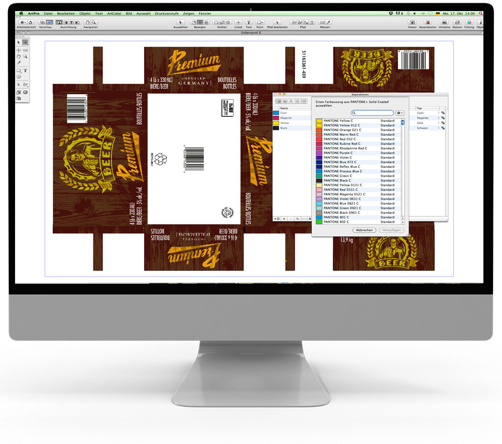 ArtPro - Dateibearbeitung - Druckvorstufe