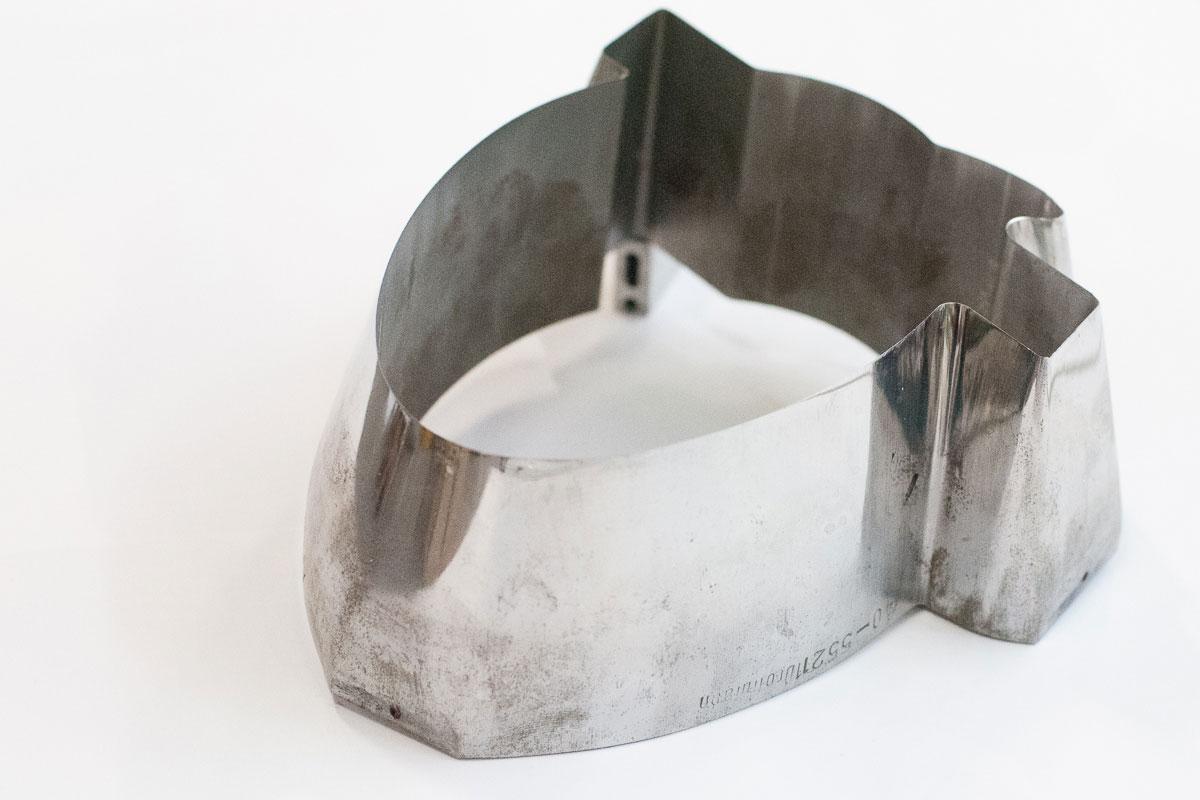 Kunststoffetiketten Weiterverarbeitung - Stanzform